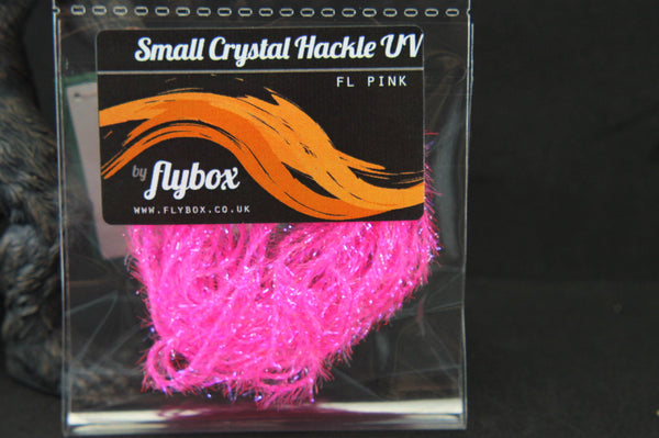 Small Crystal Hackle UV