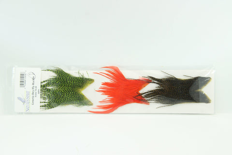 Genetic Dry Fly Hackle