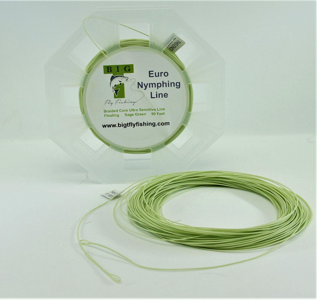Euro Nymphing Line - Big T Fly Fishing