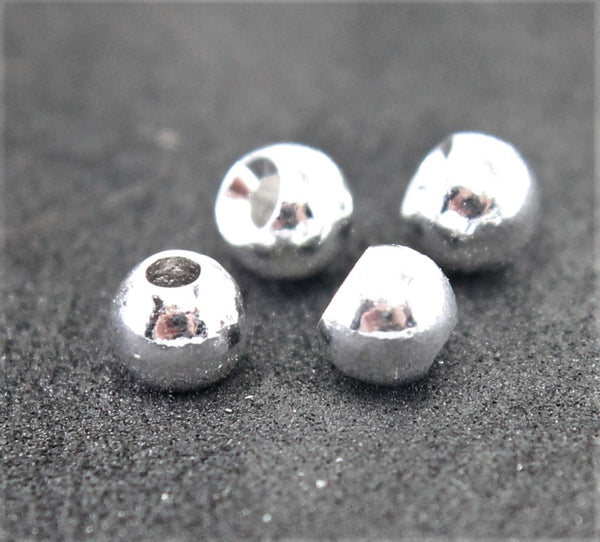 Tungsten Ball Beads - Countersunk 25 pack