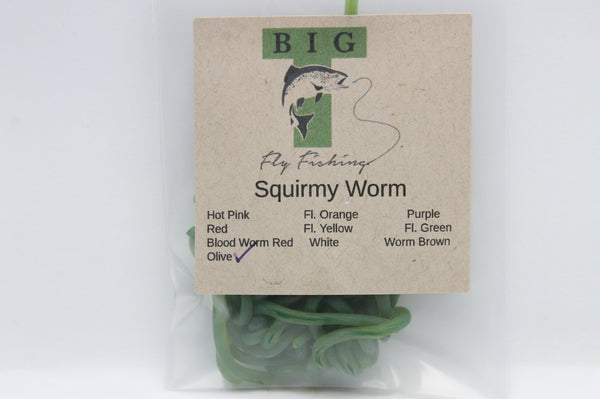 Big T Squirmy Worm Material