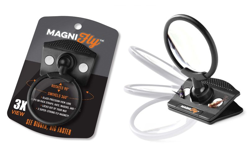 Magnifly Clip On Magnifier with Magnets