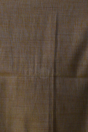 Steel Grey Banaras Silk Saree With Woven Zari Floral Designs