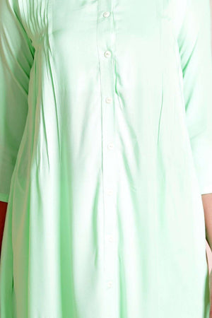 Candy Green Kurta Rivka Roopkatha - A Story of Art