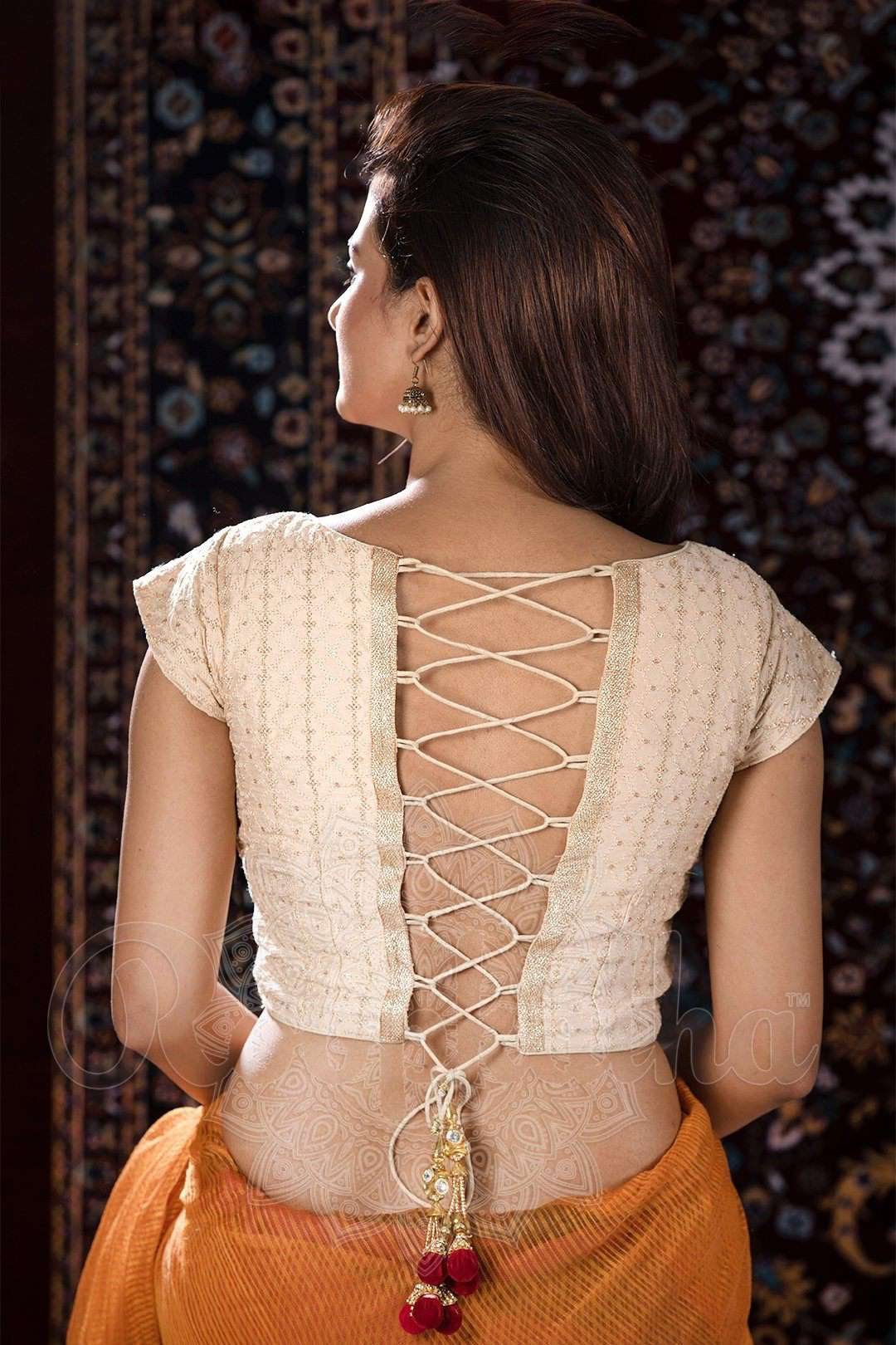 1166928410493 blouse - Roopkatha - A Story of Art