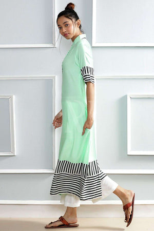 Candy Green Kurta