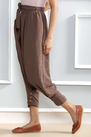 Light Brown Casual Pants Rivka Roopkatha - A Story of Art