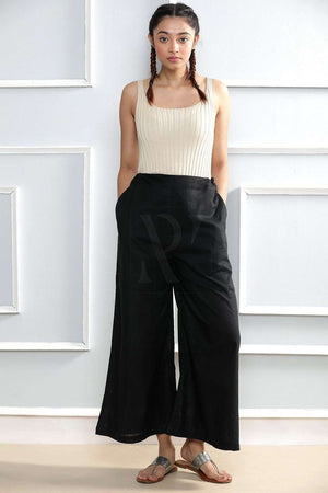 Black Cropped Pants