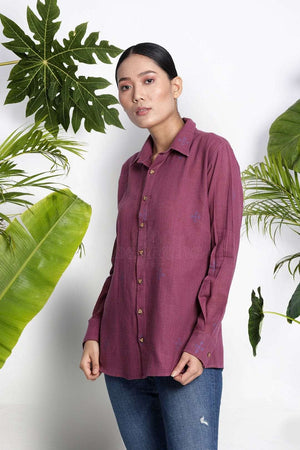 Mulberry Handwoven Cotton Shirt