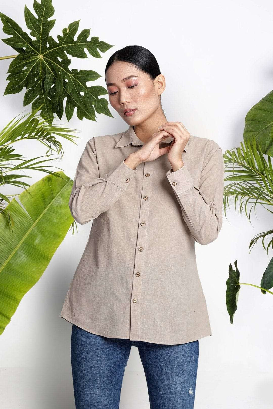 Hazelwood Handwoven Cotton Shirt