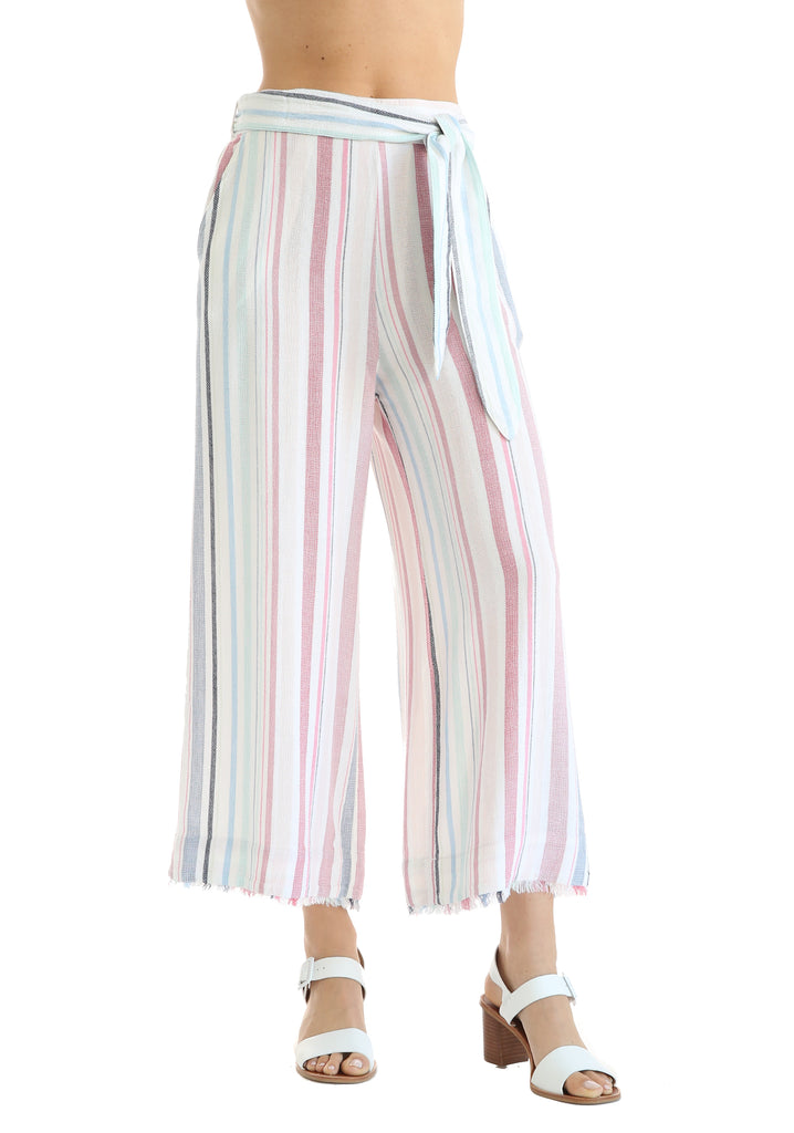 Bella Dahl Belted High Waisted Florence Crop Pant