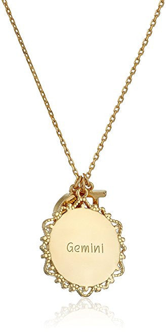 Engraved Gemini Necklace