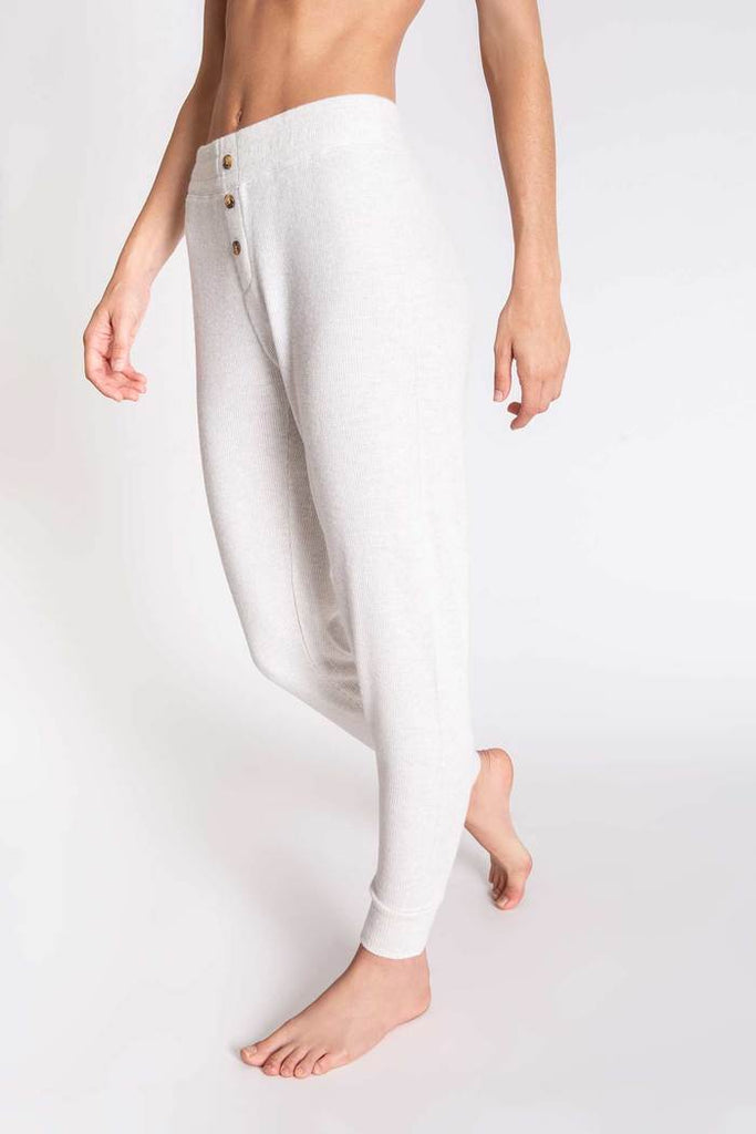 Textured Banded Pant