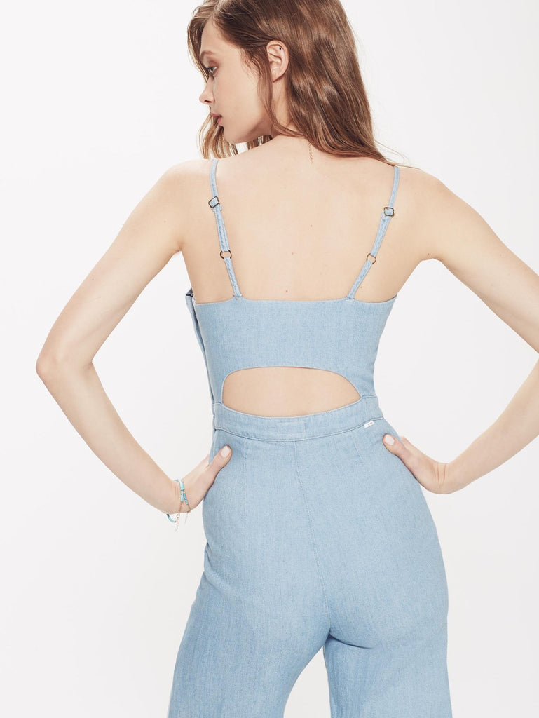 The Cut It Out Jumpsuit - Songbird