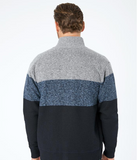 VIENNA KNIT ZIP SWEATER