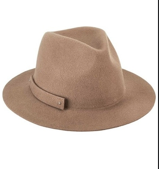 Packable Felt Hat Camel One Size