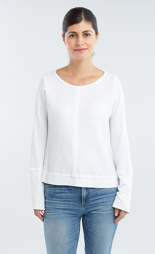 Front Seam Sweater