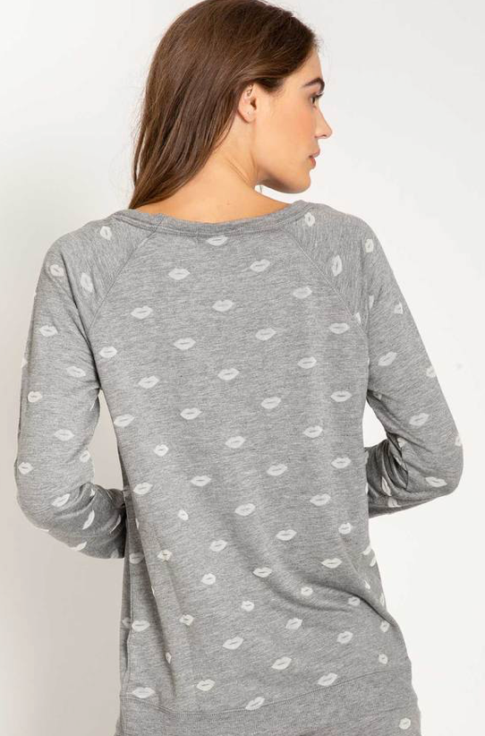 AMOUR LOVE LONG SLEEVE TOP