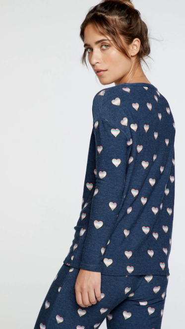 Beach Hearts Pullover