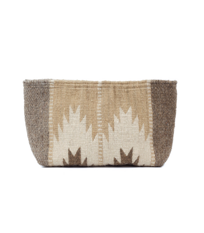 Summer Breeze Wool Clutch