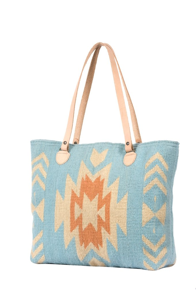 Southwest Skies Wool Tote