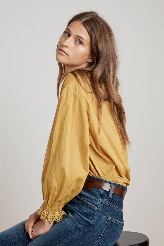 Jacoba Peasant Blouse