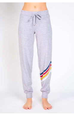 TOASTY HEATHER GREY PANT