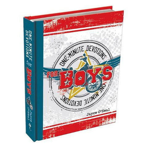 ONE MINUTE DEVOTIONS FOR BOYS-HARDCOVER