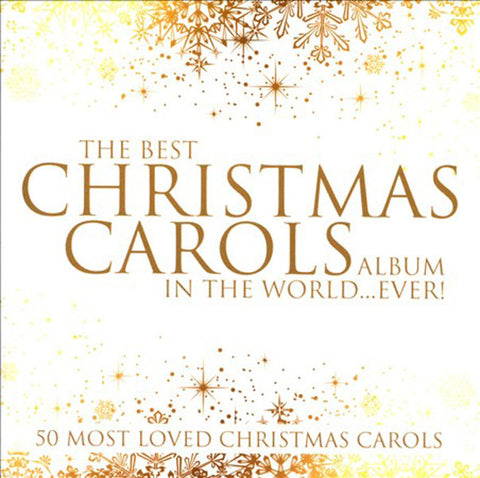 THE BEST CHRISTMAS CAROLS ALBUM-CHRISTMAS MUSIC