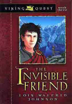 VIKING QUEST THE INVISIBLE FRIEND #3 LOIS W. JOHNSON-PAPERBACK
