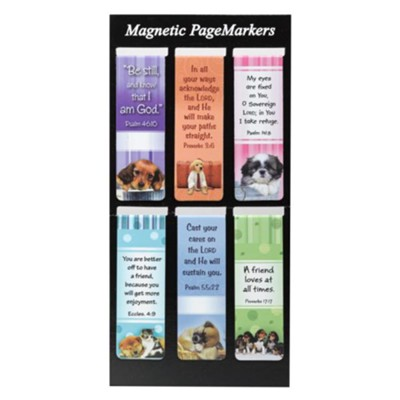 MAGNETIC PAGEMARKERS - PUPPIES