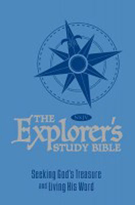 NKJV EXPLORERS STUDY BIBLE - BLUE