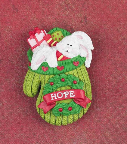 LAPEL PIN - HOPE - CHRISTMAS