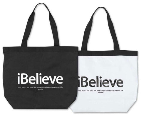 TOTE CANVAS BAG - I BELIEVE