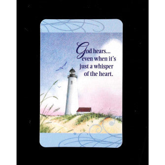BKM POCKETCARD -9628 GOD HEARS