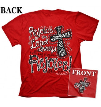 TSHIRT - REJOICE ADULT 2XL
