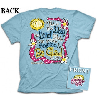 TSHIRT - THIS IS THE DAY ADULT LG