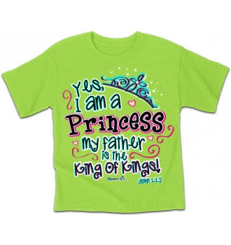 TSHIRT - PRINCESS YOUTH 14/16