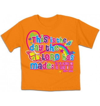 TSHIRT - THIS IS THE DAY KIDZ 5/6T