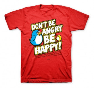 TSHIRT - BE HAPPY YOUTH 14/16