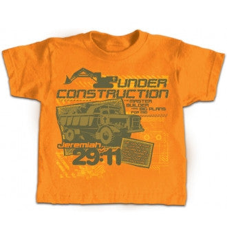 TSHIRT - UNDER CONSTRUCTION YOUTH 14/16