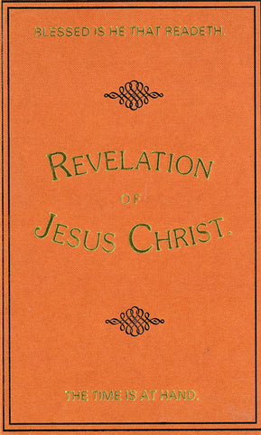 REVELATION OF JESUS CHRIST, W.R. HARTRIDGE - Hardcover