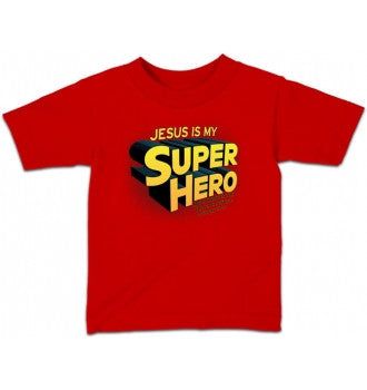 TSHIRT - SUPER HERO YOUTH LG