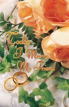 BULLETIN - WEDDING - TODAY I MARRY