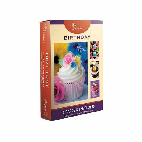 BOXED CARDS - BIRTHDAY - CUPCAKE