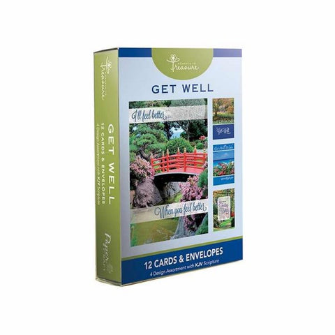 BOXED CARDS - GET WELL - LANDSCAPES