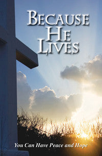 TRACT - EASTER - BECAUSE HE LIVES