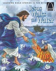ARCH BOOK - JESUS WALKS ON WATER