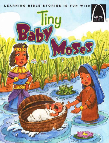 ARCH BOOK - TINY BABY MOSES