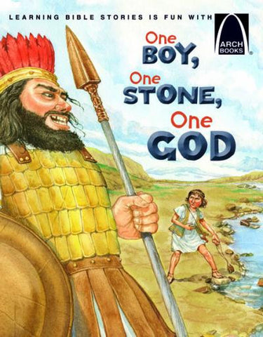 ARCH BOOK - ONE BOY, ONE STONE, ONE GOD